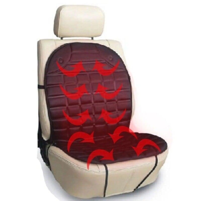 12V calientan funda de cojín de asiento de coche asiento calentador del invierno cojín para hogar cardriver cojín de asiento ...
