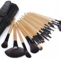 Set profesional de 20 pinceles Y 4 brochas para maquillaje Belleza