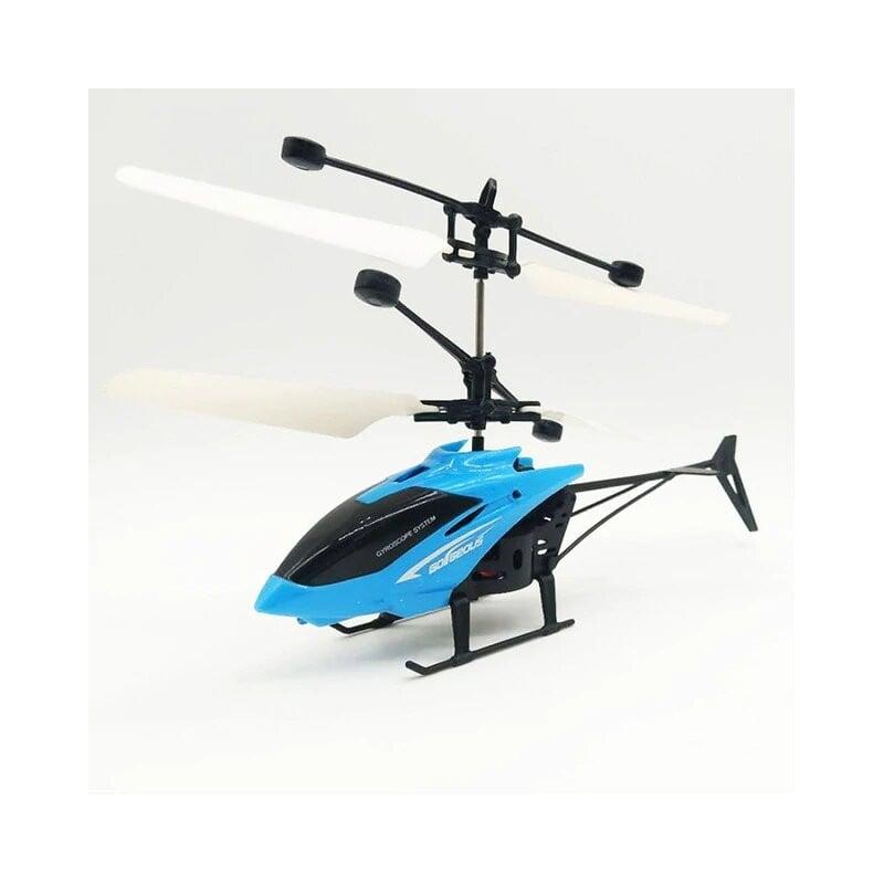 Mini RC Drone Fly RC helicóptero Suspensión de Avión Helicóptero de inducción niños juguete LED luz de Control remoto juguete...