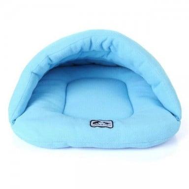Ropa de cama de perro caliente de invierno de lana suave 4 diferentes tamaños pequeño perro saco de dormir de gato cachorro cuev