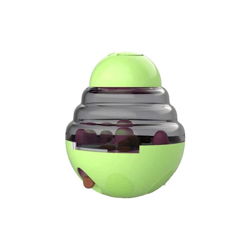 Juguete interactivo para gatos IQ Treat Ball juguetes para mascotas más inteligentes Bola de comida dispensador de comida par...
