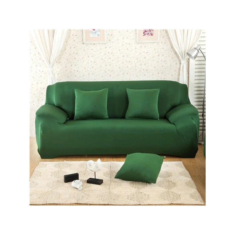 Funda de sofá elástica de Color sólido, funda de sofá de esquina de poliéster moderno de Spandex, Protector de sofá, Protecto...