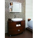 Gabinete Para Baño Con Espejo Blanco RX7315 Hogar