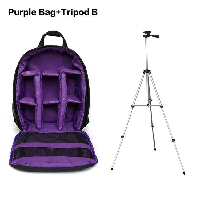 Purple Bag Tripod B