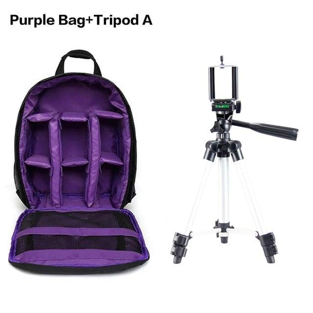 Purple Bag Tripod A