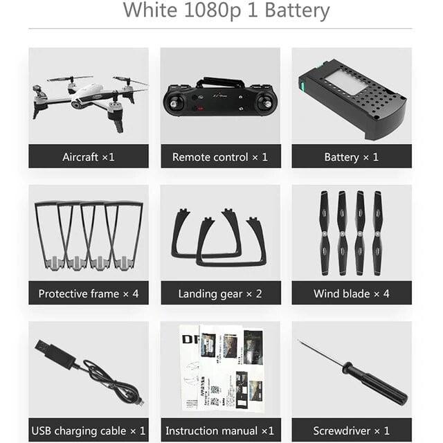 1080P White 1B
