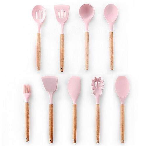 Pink 9pcs-B